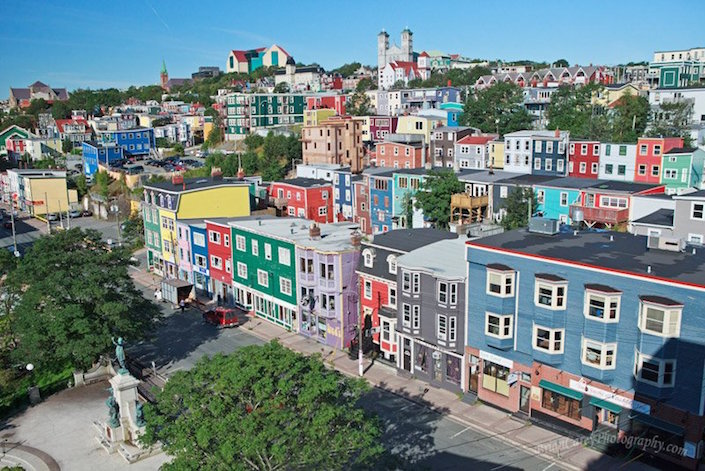 jelly-bean-row-downtown-st-johns
